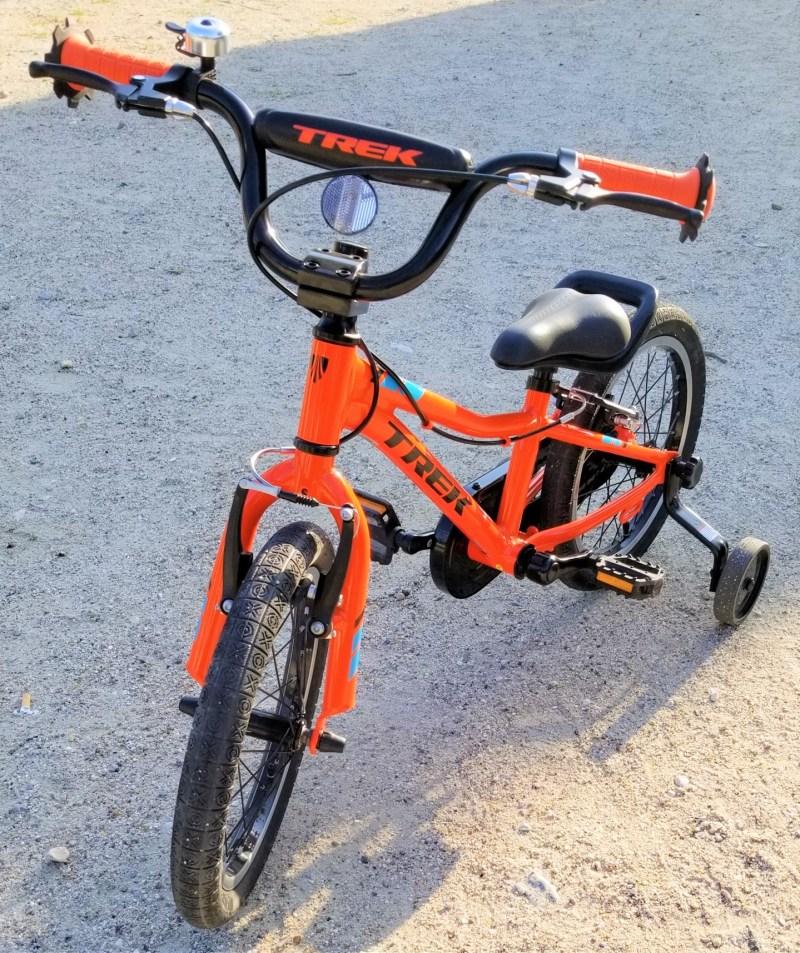 初めての子供用自転車 ( キッズバイク ) に TREK の自転車を買ったら、機能的にも金銭的にも満足した