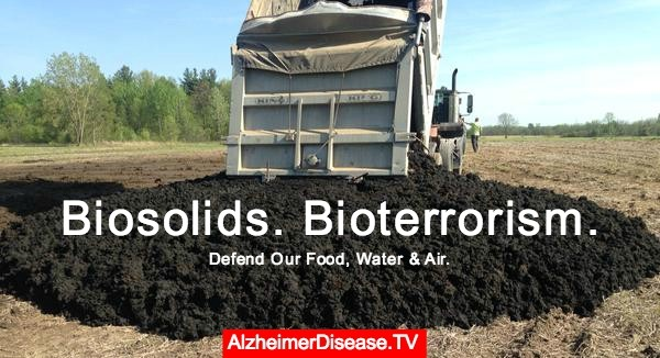 Biosolids Spreading Brain Disease