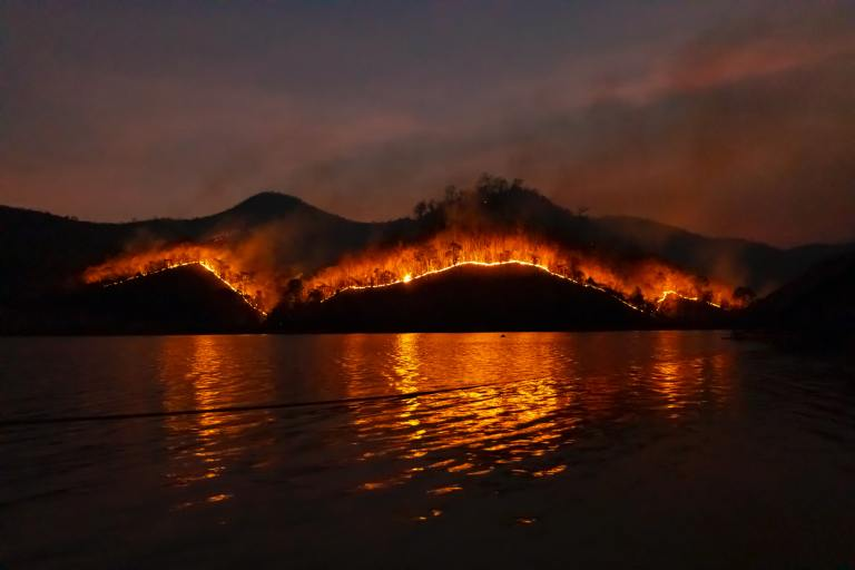 wildfires in the American West
