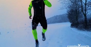 Laufspaß im Schnee