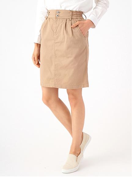 ・コットンツイルタイトスカート