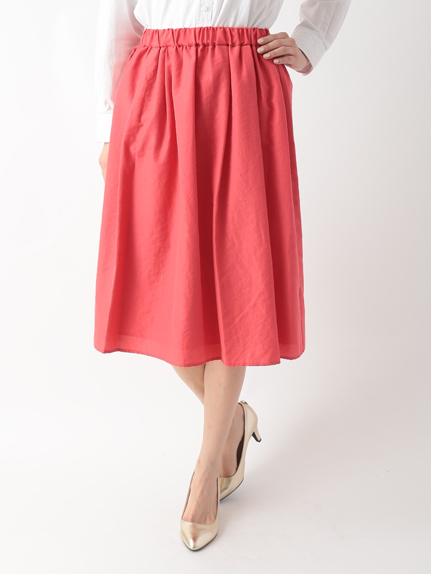 ライトタンブラーギャザースカート 1501358-22-12-11