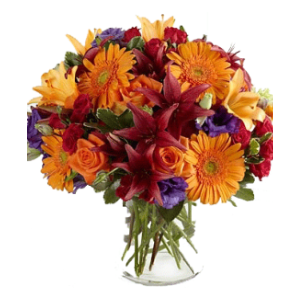 fall flowers bouquet