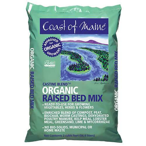 Organic raised bed mix