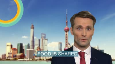 business meals in China