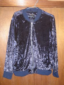 Blue Velvet Blouse