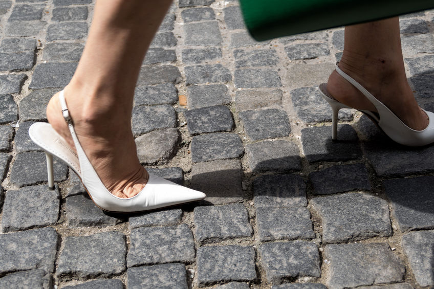 Walking Safely in High Heels while Crossdressing