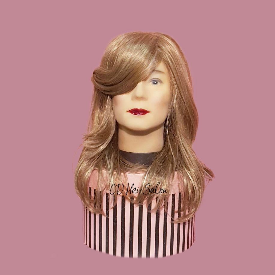 10- ash blonde with very long fringe