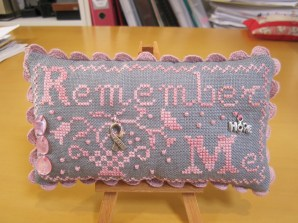 Remember Me pincushion, Blackbird Designs