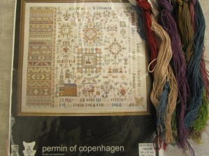 Sampler 1663, Permin of Copenhagen