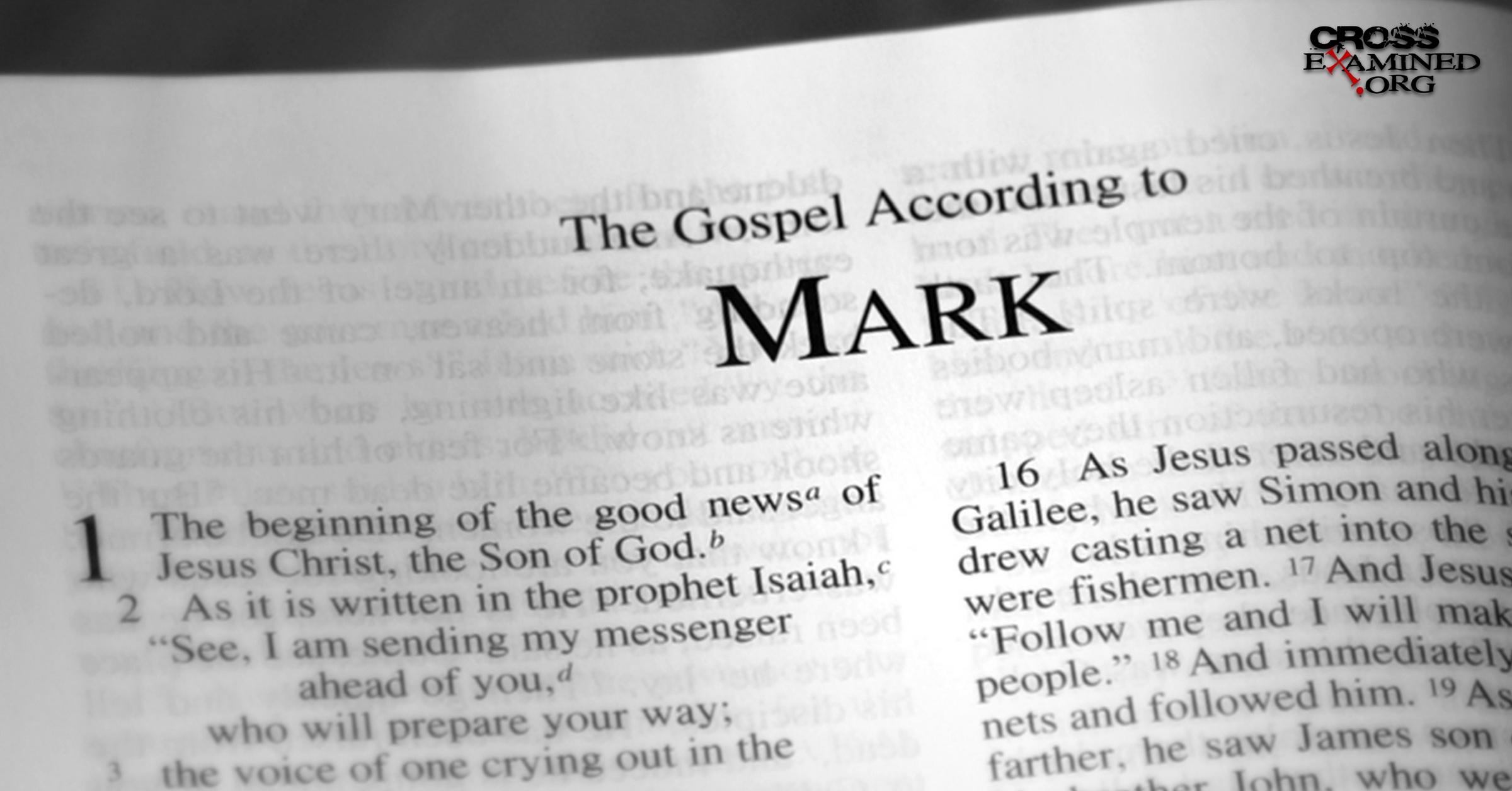 Who Wrote The Gospel Of Mark? Crossexaminedorg