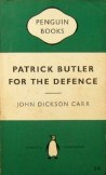 Patrick Butler for the Defence