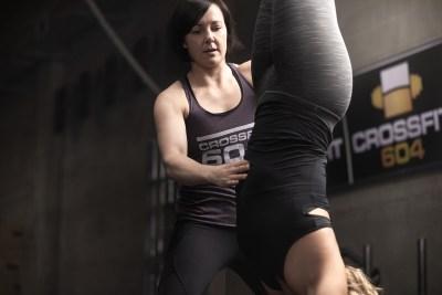 Louise Eberts Gymnastics - Handstand