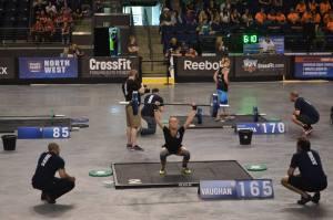 Lindsay Vaughan- CrossFit Regionals 2013