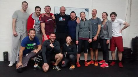 Post New Years Day WOD photo!