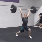 Clean and Back Squat