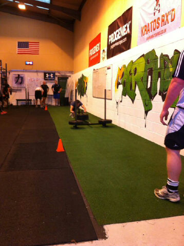 29-12-12 Prowler Push Conditioning