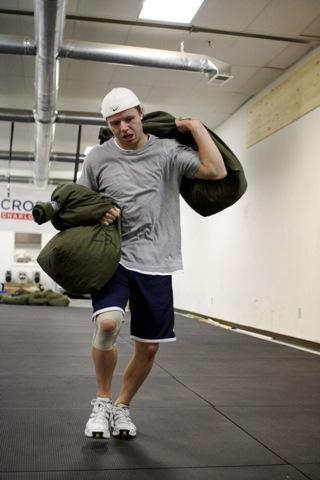 justin sandbag carry