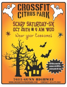 Lots of excitement on Saturday 10/26.. Good luck to all and have fun!!