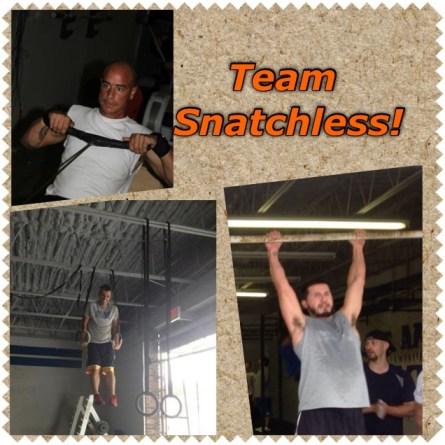 Men's scaled team for TNL Fitness Challenge..
