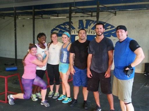 Not only are they the happy hour class but today they killed the deadlifts! Everyone PR'd!