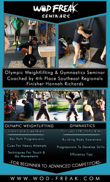 Seminar is almost here.. September 13th 10am-5pm!