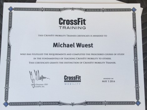 Mike Mobility Cert