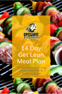 FREE gift for signing up. 14 Day Meal Plan and Shopping Guide