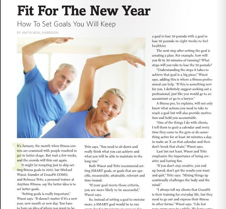 CrossFit COMO featured in Columbia Prime Magazine