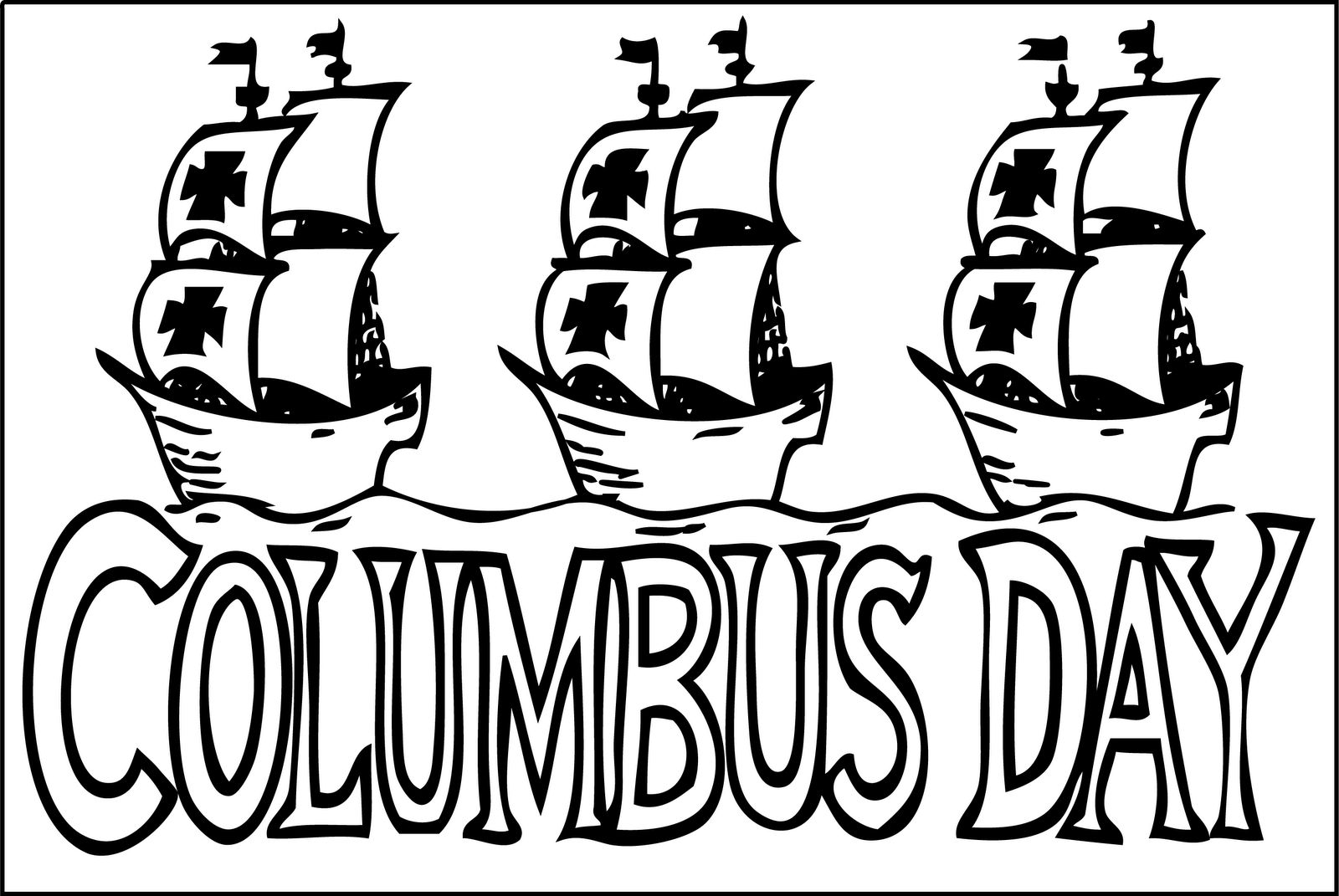 Columbus Day Schedule 10 08 12