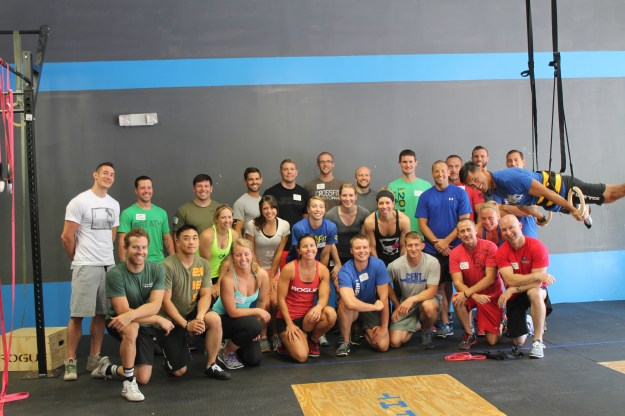 The CrossFit Gymnastics Seminar at CFHT this weekend