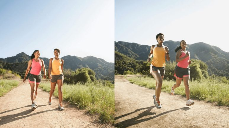 Walking and Running
