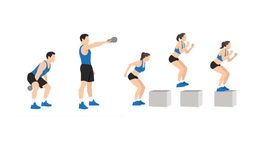 Best AMRAP Workouts Swings & Jumps