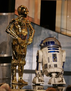 3PO and R2...just hanging