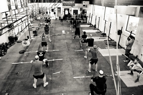 Barbell warm up!