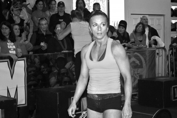 Kathy looking RIPPED!