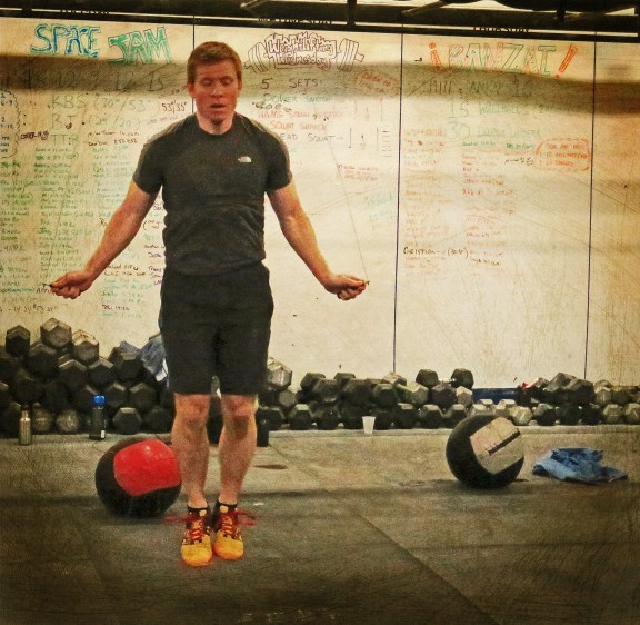 Cam eats double unders for breakfast...and eggs.