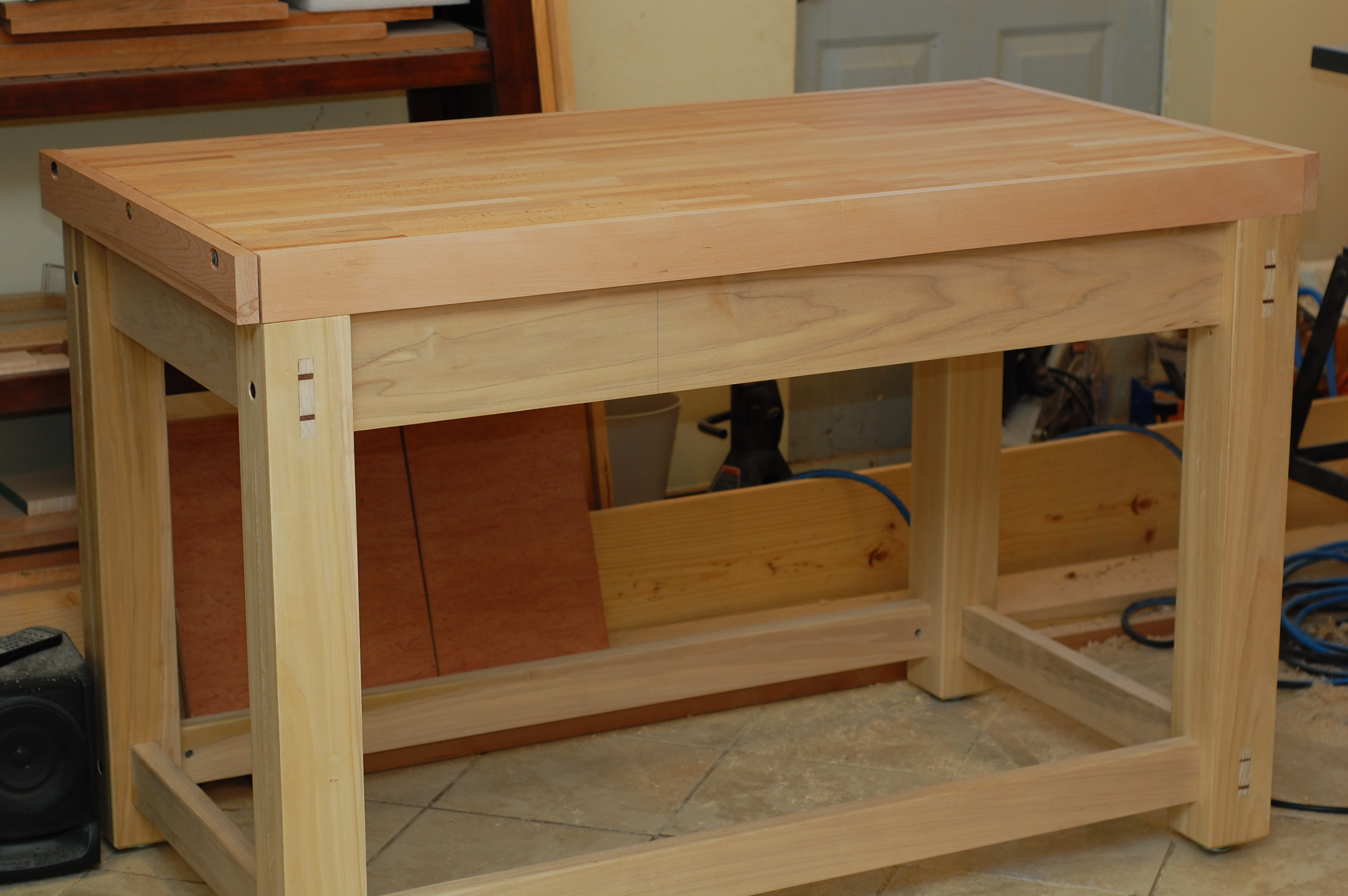 Best Finish For Maple Workbench Top