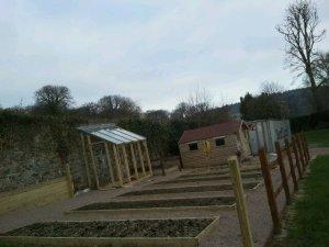 Community Garden greenhouse March 2013