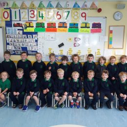 Our New Junior Infants – Welcome to our School!!