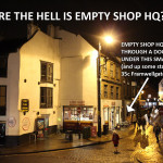 How to find Empty Shop HQ
