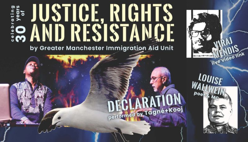 migration justice, rights and resistance feat. Declaration performance - at Partisan 25 Sept 2019