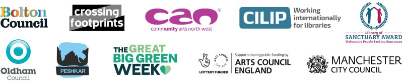 Logos of supporting funders and partners for Climate Connections  media and climate workshop