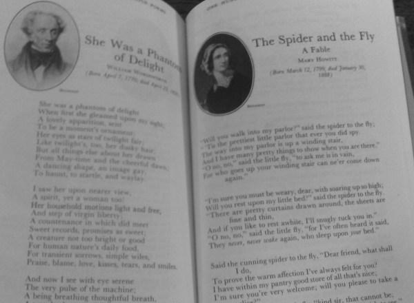 101 Famous Poems - Inside