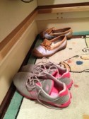 Day 18: Your shoes, before you take them off after a long day