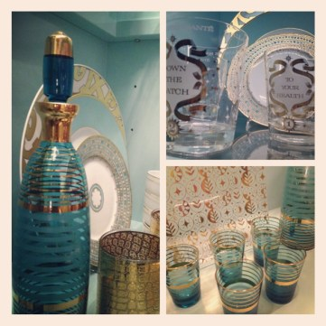 Day 9: Guilty Pleasures - Vintage glassware & barware
