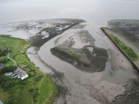 Present-day view of Port Carlisle