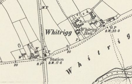 Whitrigg station by the R Wampool