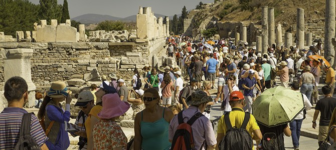 Rock Fans at Ancient Ephesus