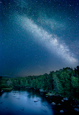 Milky Way and Wolf River